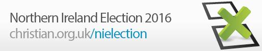 Northern Ireland Election 2016 banner