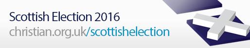 Scotland Election 2016 banner