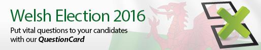 Welsh Election 2016 banner