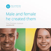 Male and female he created them