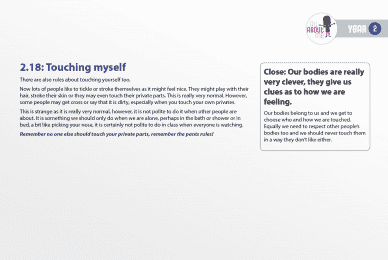 All About Me, YEAR TWO Lesson Plan, page 20