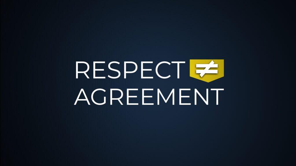 Respect ≠ Agreement