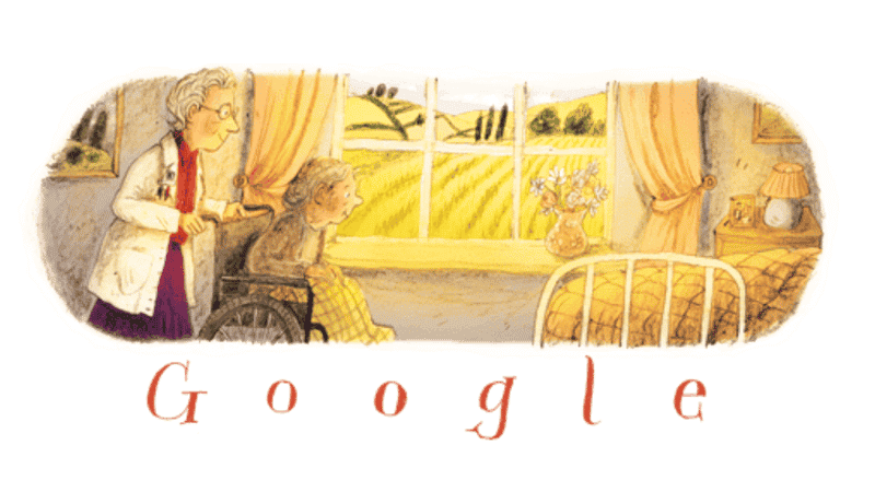 Google's Dame Cicely Saunders Doodle
