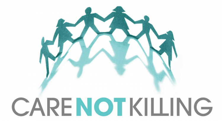 Care Not Killing logo