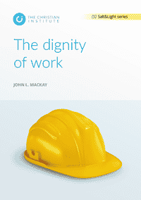 The dignity of work
