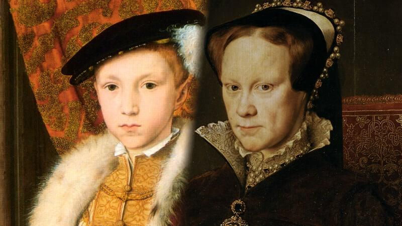 3. Edward VI and Mary I