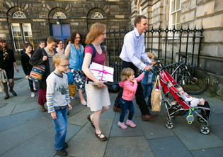 Legal papers were lodged at Edinburgh's Court of Session by The Christian Institute alongside concerned parents.