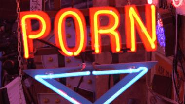 Porn sign