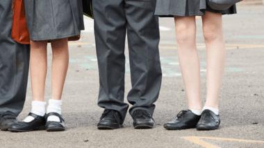 legs school children