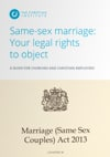 Same-sex marriage: Your legal rights  to object