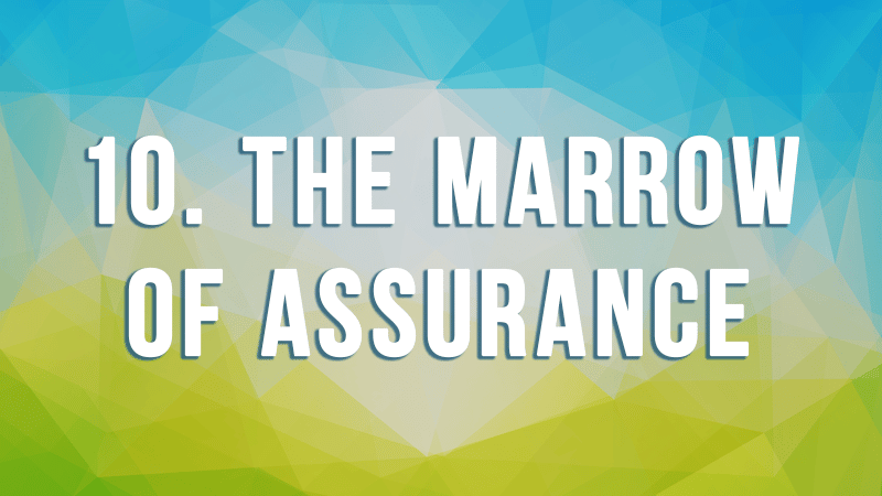 10. The Marrow of Assurance