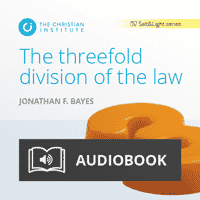 The threefold division of the law