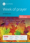 Week of prayer: Autumn 2019